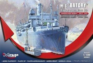 BATORY Transportowiec Desantowy Operacja HUSKY Lipiec 1943