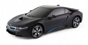 BMW i8 1:18 RTR (zasilanie na baterie AA) - czarny