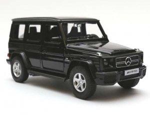 Mercedes-Benz G63 1:24 RTR (zasilanie na baterie AA) - czarny