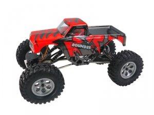 Mini Rock Crawler 1:16 4WD 2.4GHz 4CH RTR - czerwony