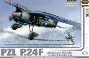 PZL P.24F Grecki Samolot Myśliwski