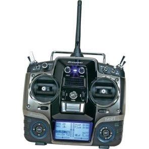 MX-20 HoTT 2.4GHz 12CH (odbiornik GR-16, interfejs USB, karta pamięci, akumulator, ładowarka)
