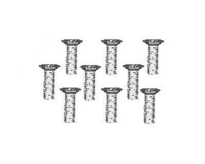 Śruby samogwintujące z łbem stożkowym 2.6*6   - 86078