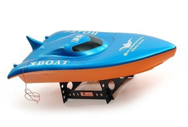 Volvo Racing Boat (RTR, Zasięg 70m, 35km/h) - Niebieski