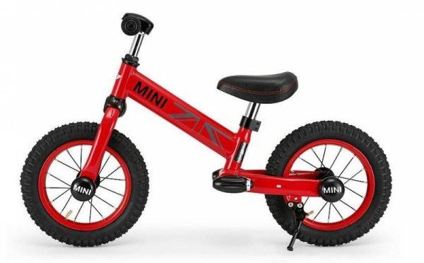 Rowerek biegowy MINI - czerwony