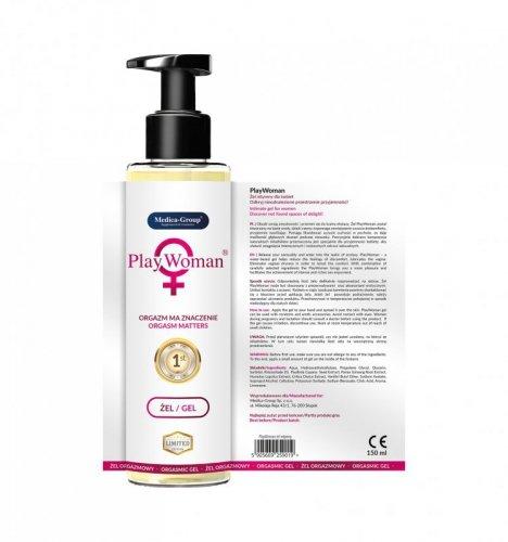 PlayWoman 150 ml - Żel pobudzający orgazm dla kobiet