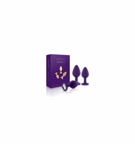 Rianne S - Booty Plug Set 3x Purple