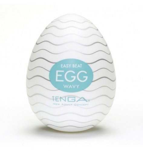 Dyskretny Masturbator - Tenga Egg - Wavy