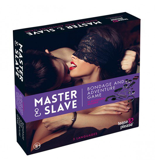 Master & Slave Bondage Game Purple
