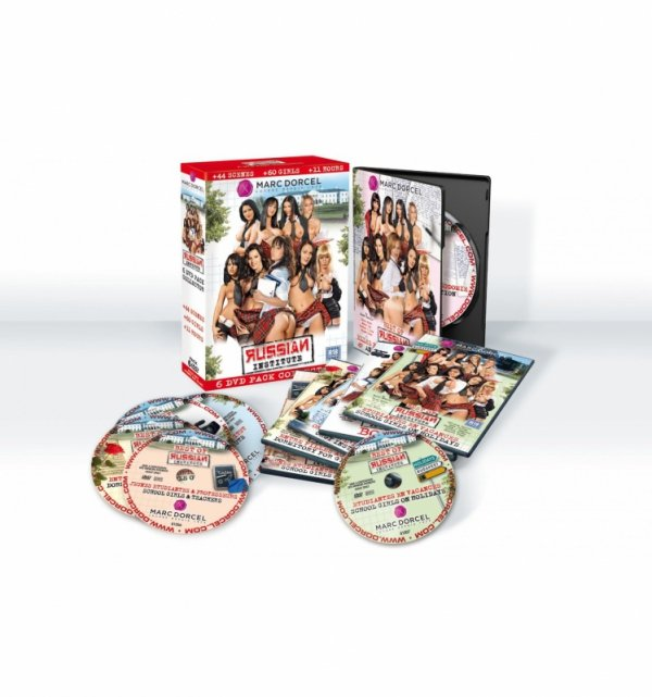 DVD Marc Dorcel - Russian Institute Collector Box (6-pack)