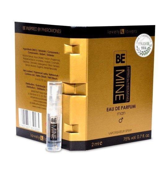 Lovely Lovers BeMINE Eau De Parfum for Man 2 ml
