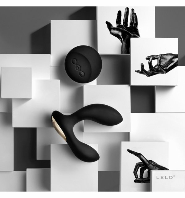 Masażer prostaty- LELO - Hugo, black