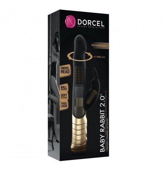 Dorcel Baby Rabbit Black & Gold 2.0