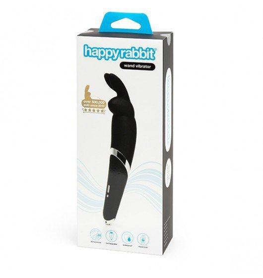 Happy Rabbit Wand Vibrator Black
