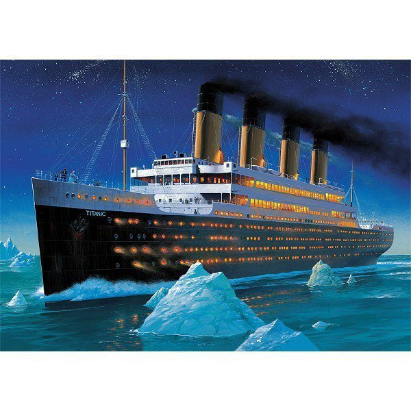 Puzzle 1000 elementów, Titanic