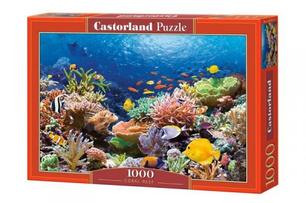 puzzle 1000 elementów Rafa Koralowa
