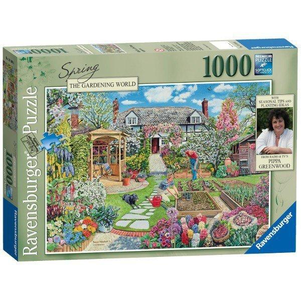 RAVEN. 1000 EL. Wiosna w ogrodzie