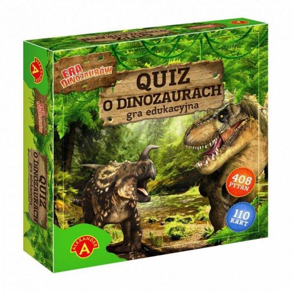 Gra Qiuz o dinozaurach