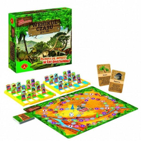 Gra 3D Wehikuł czasu - Era dinozaurów