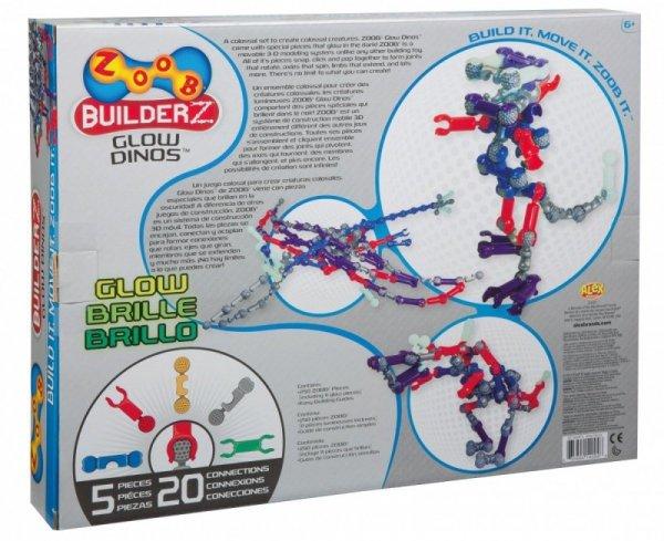 Glow Dinos 250 elementów