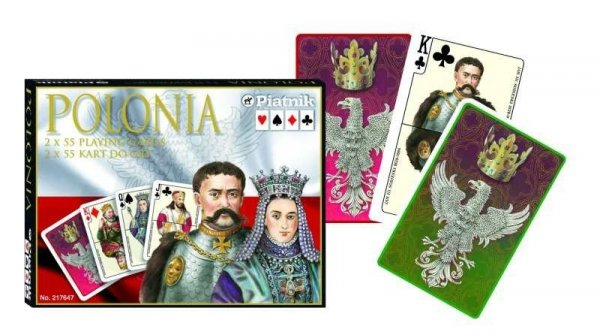 Karty Polonia 2 talie