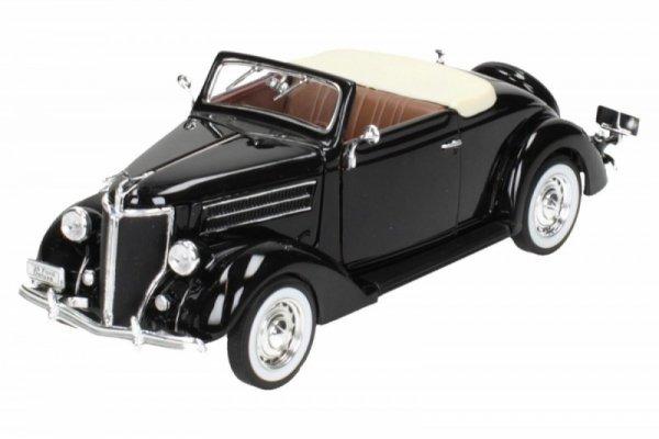 Ford Deluxe Cabrio 1936, czarny