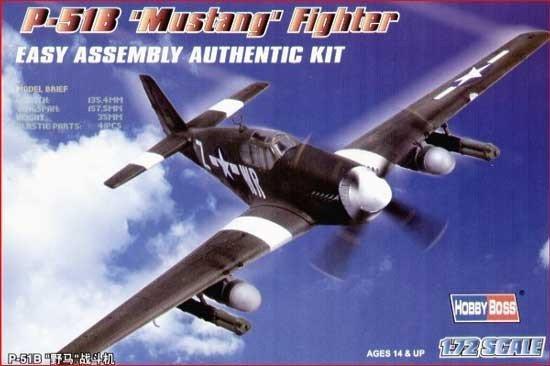 HOBBY BOSS P-51B Mustang Fighter