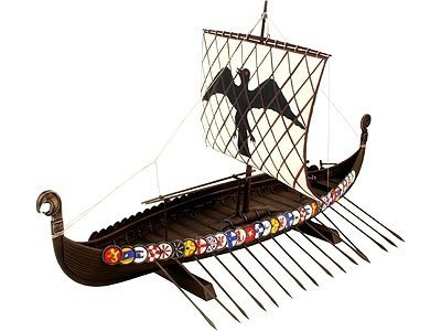 Model plastikowy Viking Ship