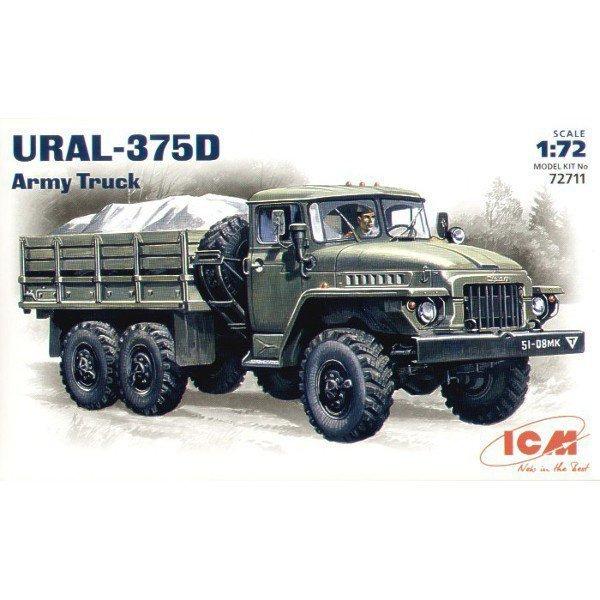 ICM URAL URAL-375D Army Truck