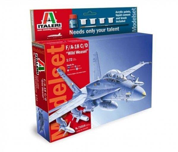 Model set 'home play' F/A-18 C/D
