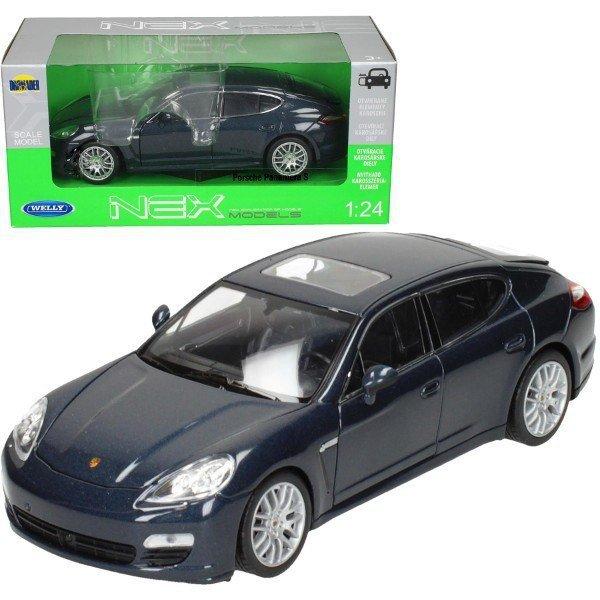 Porsche Panamera S, niebieskie