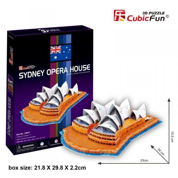 Puzzle 3D Opera w Sydney