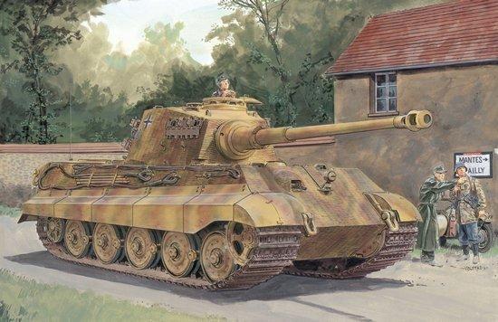 Sd.Kfz.182 King Tiger Henschel Turret w/Zimmerit