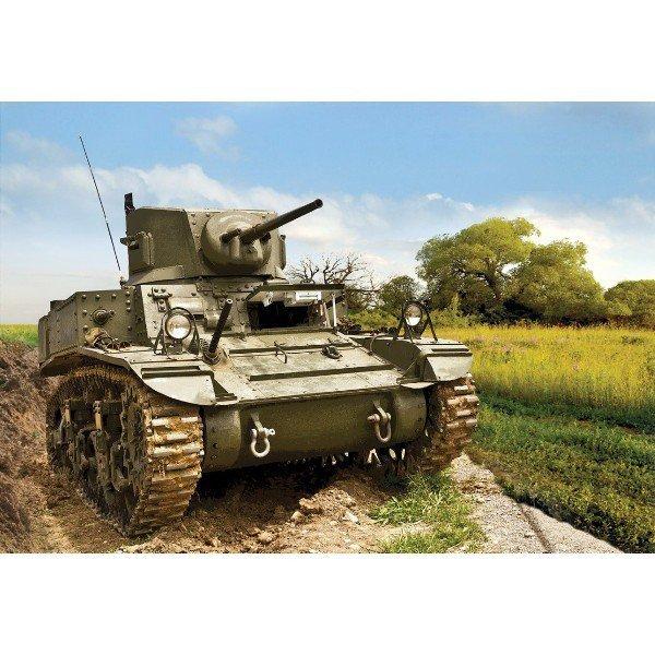 ZVEZDA US light tank M3A 1 'Stuart'