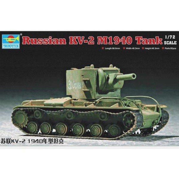 TRUMPETER Soviet KV-2 M1 940 Tank