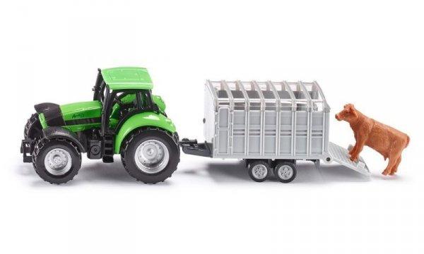 Traktor z Przyczepą dla Zwierząt