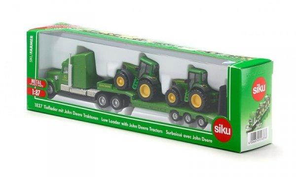 Ciężarówka z Naczepą + Dwa Traktory