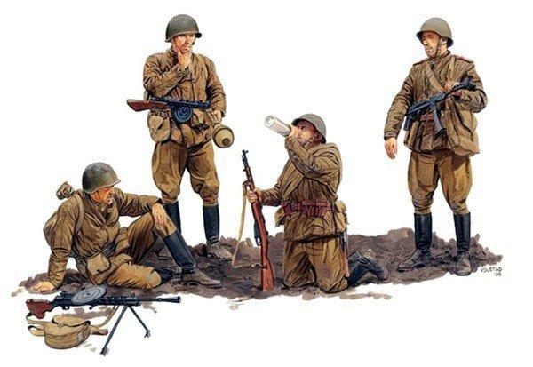 DRAGON Soviet Guards Inf antry 1944-45