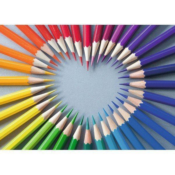 1000 ELEMENTÓW Kolorowe Serce