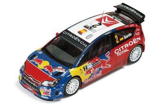 IXO Citroen C4 WRC Red B ull #2 D. Sordo