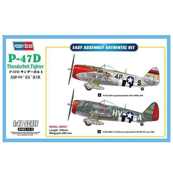 HOBBY BOSS P-47D Thunder bolt Fighter