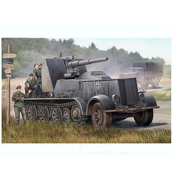 TRUMPETER German 8.8cm Flak 18