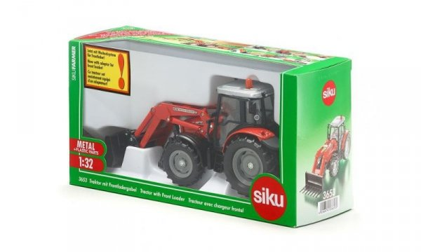 Traktor z Przednią Ładowarką