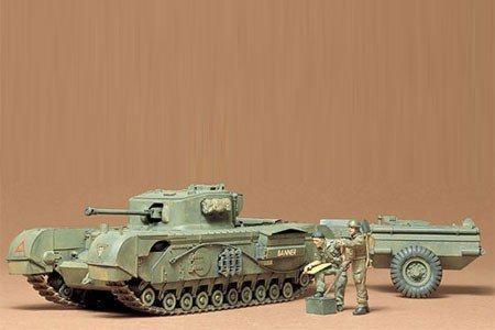 British Churchill C Tank