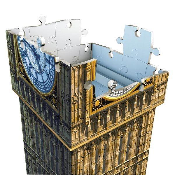 216 ELEMENTÓW 3D Big Ben