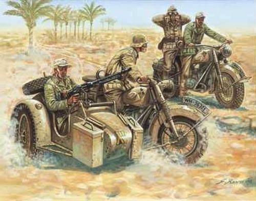 WWII German Motorcycles