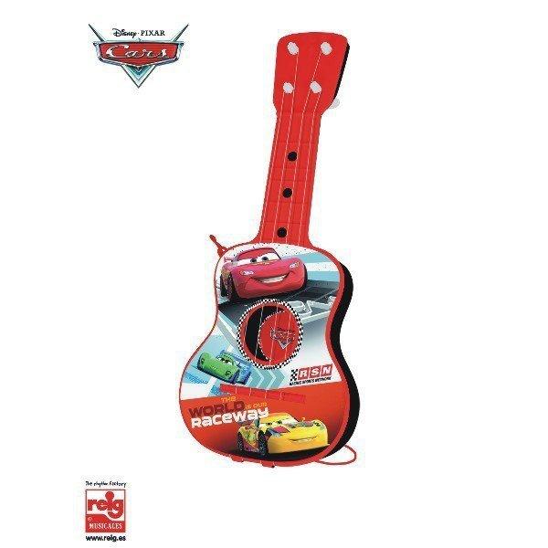 Cars Gitara plastikowa, 4 struny