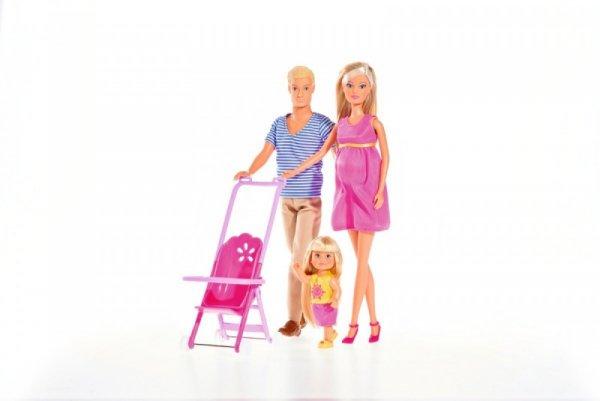 Lalka Steffi Love Zestaw szczęśliwa rodzina