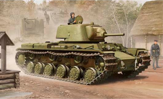 TRUMPETER KV-1M 1939