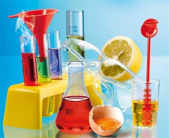 Zestaw naukowy Moje pierwsze doświadczenia chemiczne
